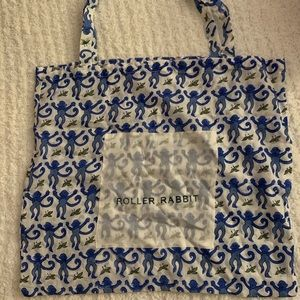 MONKEY ROLLER RABBIT REUSABLE BAG